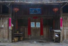Le vecchie case in Guizhou rurale Fotografia Stock Libera da Diritti