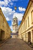 Le vecchie vie di Vyborg, Russia Immagine Stock