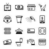 Le vecteur affiche des icônes Photo libre de droits