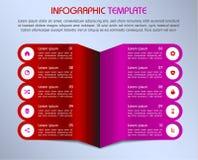 Le vecteur coloré moderne de calibre d'options d'infographics a conçu à Photo libre de droits