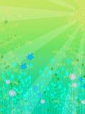 Le vecteur floral aiment le fond Photos libres de droits