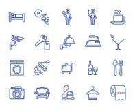 Le vecteur raye des icônes illustration libre de droits