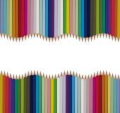 Le vecteur sans couture lumineux crayonne le fond Image libre de droits