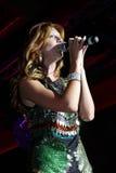 Le vedette de pop Natalia Podolskaya Photographie stock libre de droits
