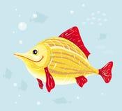 le vektor för fisk Fotografering för Bildbyråer