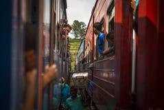 Le vendite equipaggiano sul treno Immagine Stock Libera da Diritti