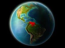 Le Venezuela le soir Images libres de droits