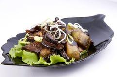 Le verdure arrostite Fotografia Stock