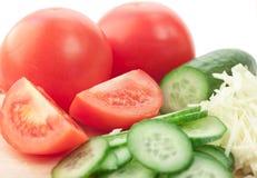 Le verdure del taglio Immagine Stock Libera da Diritti