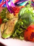 Le verdure messicane hanno cotto l'insalata alla griglia fotografie stock