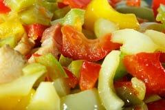 Le verdure si chiudono su Fotografia Stock