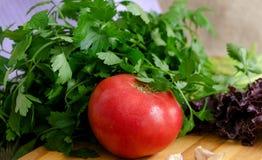 Le verdure si chiudono su fotografia stock libera da diritti
