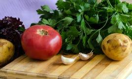 Le verdure si chiudono su immagine stock