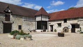 ` Le Verger de Giverny `, een landbouwbedrijf in Normandië Royalty-vrije Stock Afbeelding