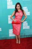 Le Veronica de Mayra au film 2012 de MTV attribue des arrivées, amphithéâtre de Gibson, la ville universelle, CA 06-03-12 Images stock