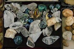 Le verre de quartz Photographie stock libre de droits