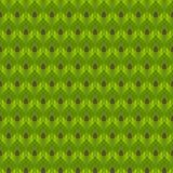 Le vert abstrait laisse le modèle sans couture illustration stock