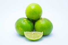 Le vert frais rend boiteux sur le fond blanc photo libre de droits
