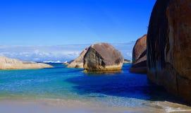 Le vert met William Bay National Park en commun Image libre de droits