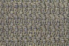 Le vert a tricoté le fond de laine avec un modèle de tissu mou et laineux Texture de plan rapproché de textile Image stock
