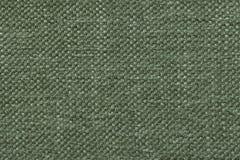 Le vert a tricoté le fond de laine avec un modèle de tissu mou et laineux Texture de plan rapproché de textile Photos libres de droits