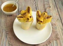Le vespe sono fatte del gelato Fotografia Stock