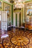 Le vestiaire de la Reine (Sala font Toucador DA Rainha) dans le palais national de Queluz, Portugal Photos libres de droits