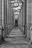 Le vestibule dans Karlovy varient, République Tchèque Images stock
