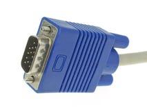 le VGA de connecteur Photo libre de droits