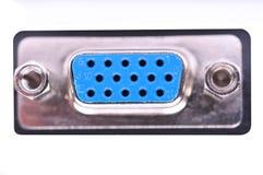 le VGA de surface adjacente Image libre de droits