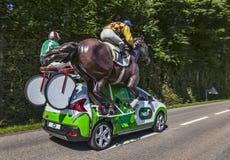 Le véhicule de l'UGP Images stock