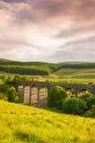 Le viaduc en vallées de Yorkshire images stock