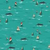 Le vibrazioni hawaiane tropicali ed il vento dell'estate dell'umore dell'isola praticano il surfing sul illustrazione di stock