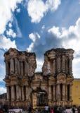 Le vie dell'Antigua, Guatemala Immagini Stock