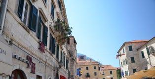 Le vie di Cattaro 1 Immagini Stock Libere da Diritti