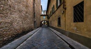 Le vie di Firenze L'Italia Immagini Stock