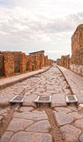 Le vie di Pompei Immagine Stock Libera da Diritti