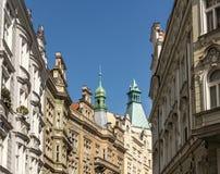 Le vie di Praga Immagini Stock Libere da Diritti