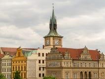 Le vie di Praga Fotografia Stock Libera da Diritti