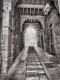 Le vie di San Giovanni d'Acri Fotografia Stock Libera da Diritti