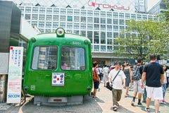 Le vie di Shibuya Immagini Stock Libere da Diritti