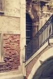 Le vie di Venezia Immagini Stock