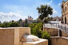 Le vie strette di Gerusalemme. Fotografia Stock Libera da Diritti