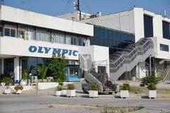 Le vieil aéroport abandonné d'Ellinikon Athènes Photographie stock libre de droits