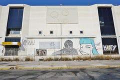 Le vieil aéroport abandonné d'Ellinikon Athènes Photographie stock