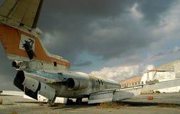 Le vieil aéroport de la Chypre I. Photographie stock libre de droits