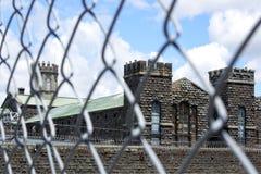Le vieil extérieur de prison de Mt Éden Photo libre de droits