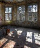 Le vieil hôpital d'enfants abandonnés Image stock