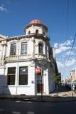 Le vieil hôtel cosmopolite en enceinte populaire de Maboneng de J Photographie stock libre de droits