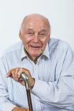 Le vieil homme apprécie la vie Photos libres de droits